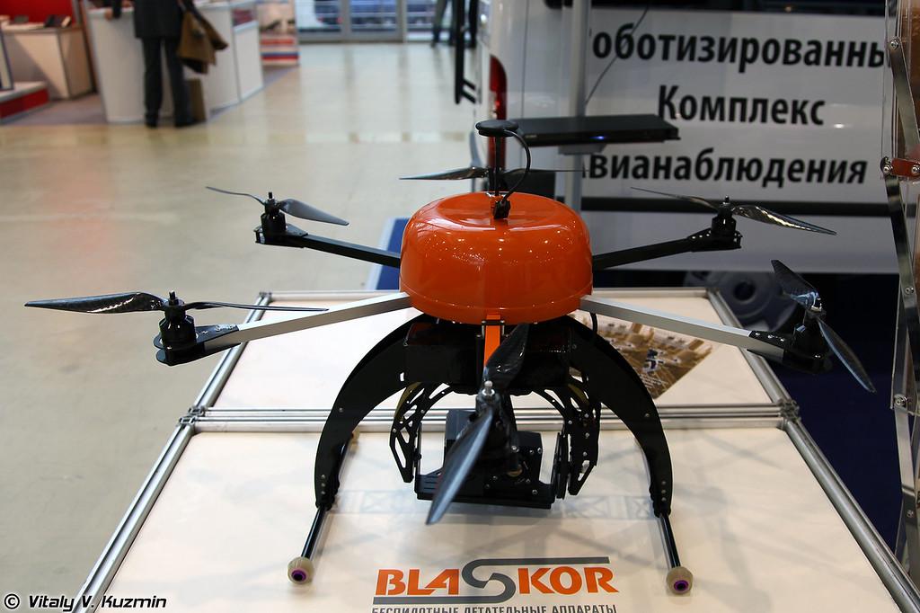 Роботизированный комплекс авиаблюдения Blaskor (Blaskor UAV)