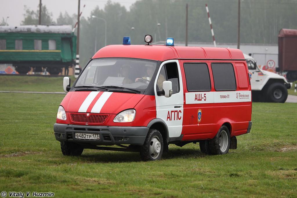 Автомобиль штабной пожарный АШ-5 (ASh-5 vehicle)