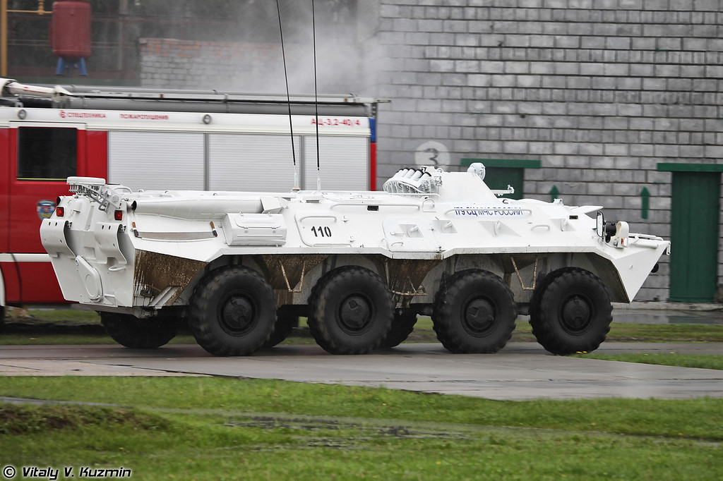 БТР-80 179-го СЦ МЧС России (BTR-80 from 179th Rescue Center)