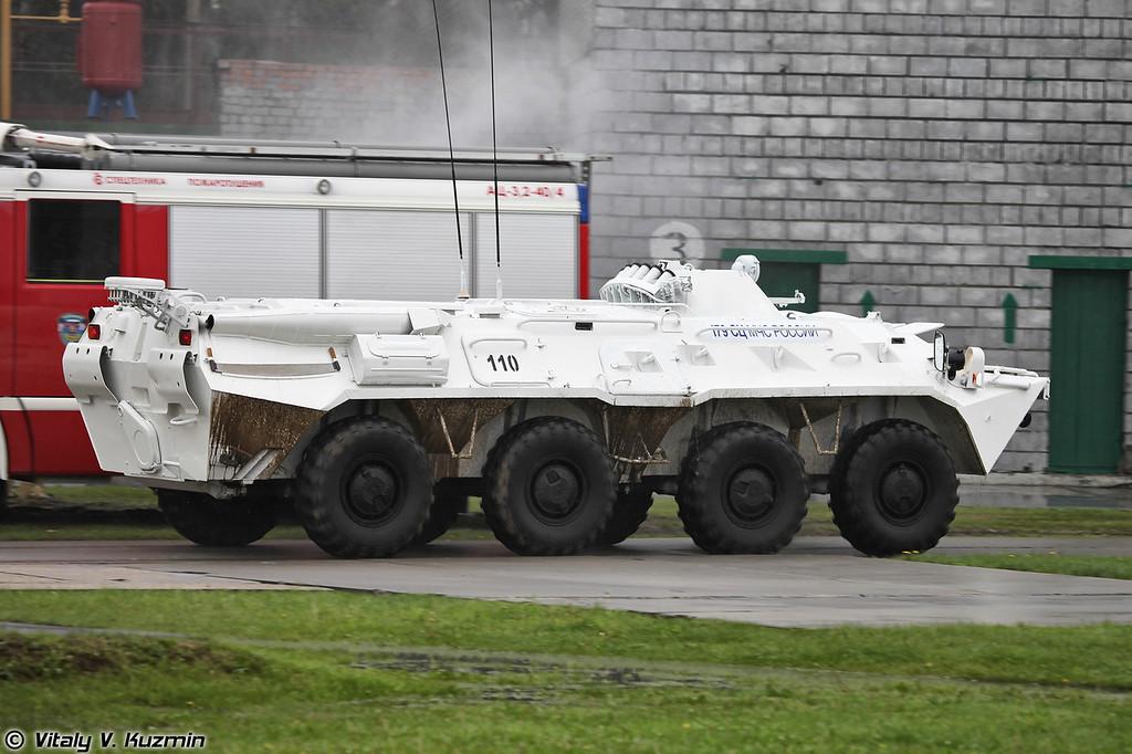 БТР-80 179-го СЦ МЧС России (BTR-80 from 179th Rescue Center)