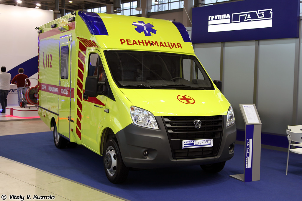 Автомобиль скорой медицинской помощи на базе ГАЗель NEXT (Ambulance vehicle on GAZel NEXT base)
