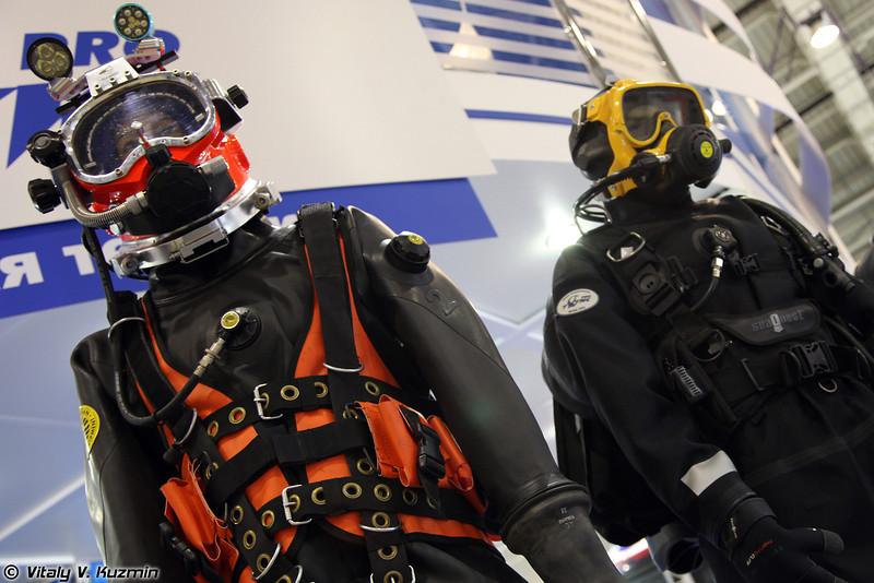 Снаряжение водолазное универсальное СВУ-5 (SVU-5 diving equipment)