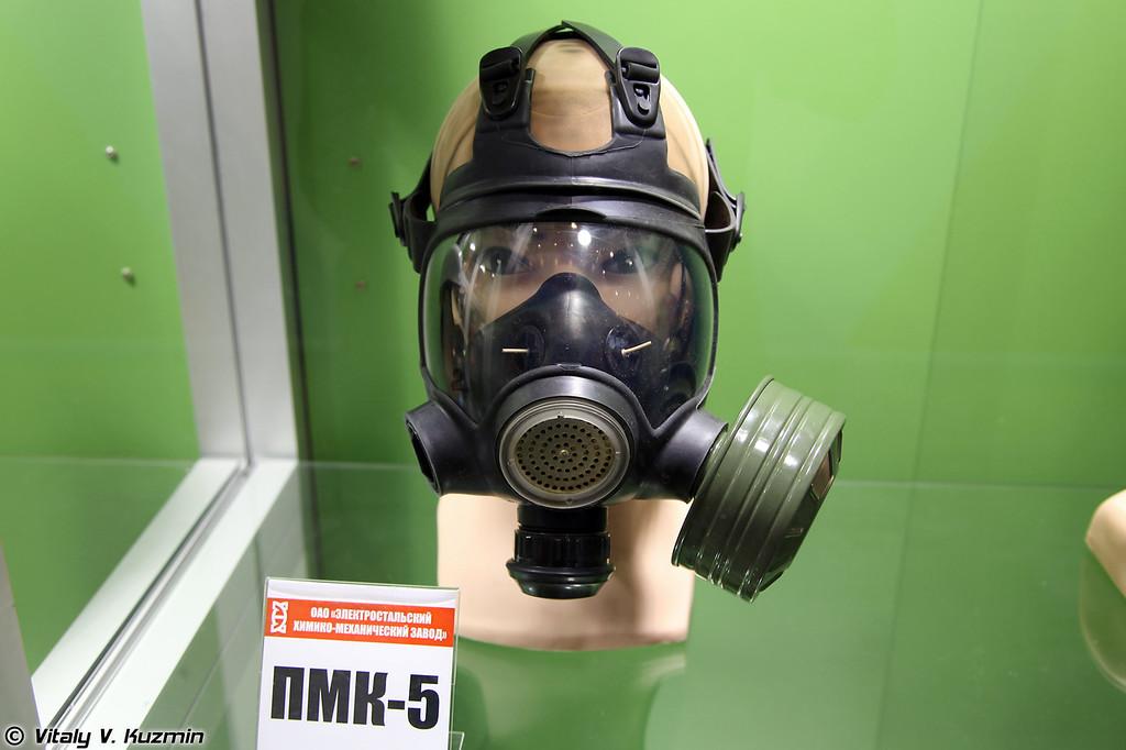 Общевойсковой противогаз ПМК-5 (PMK-5 gas mask)