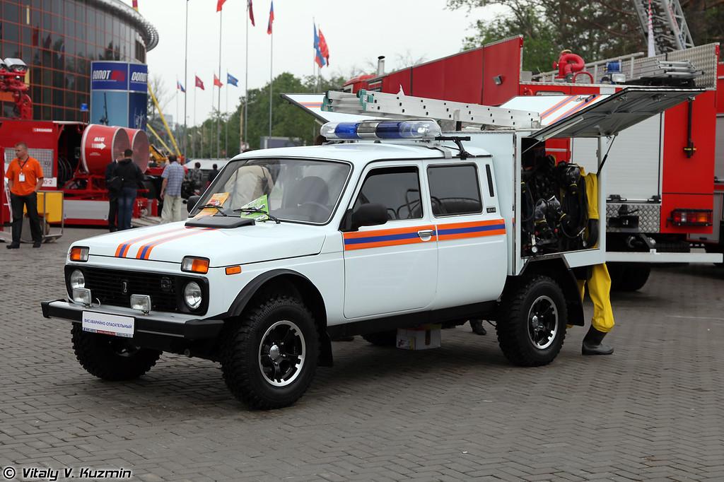 Автомобиль аварийно-спасательный ВИС-294611 (Rescue vehicle VIS-294611)