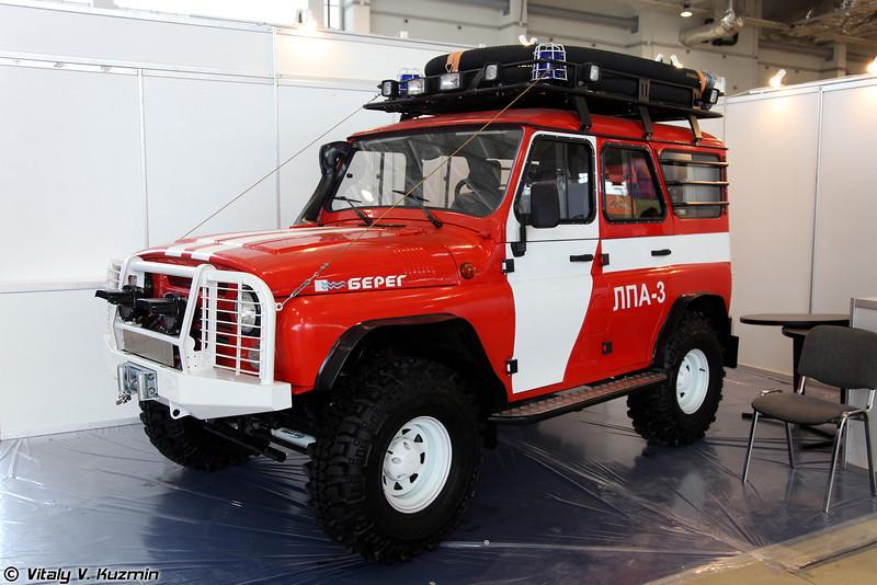 Лесопатрульный автомобиль ЛПА-3 (Fire patrol vehicle LPA-3)