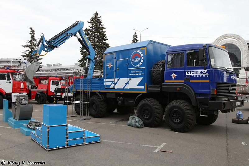 Инженерно-машинизированный комплекс ИНТЕХ (INTEKh engineering vehicle)