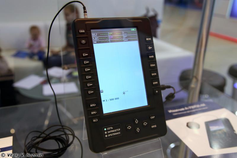 Навигационный планшет А-737ПЛ-М (A-737PL-M navi pad)