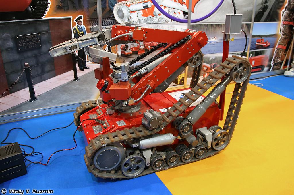 Роботизированный комплекс МРК-РП (MRK-RP robot system)
