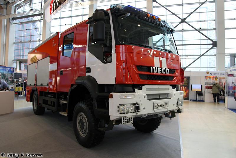 Автоцистерна пожарная АЦ 5,0-50/4 (ATs 5,0-50/4 fire fighting vehicle)
