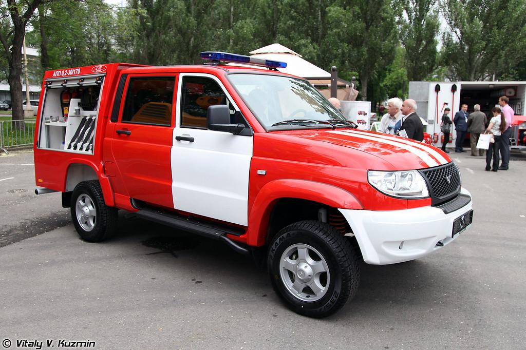 Автомобиль первой помощи АПП-0,2-30/170 (Rescue vehicle APP-0,2-30/70)
