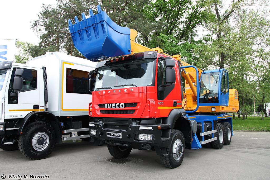 Экскаватор-планировщик IVECO-AMT 693920 (Excavator IVECO-AMT 693920)