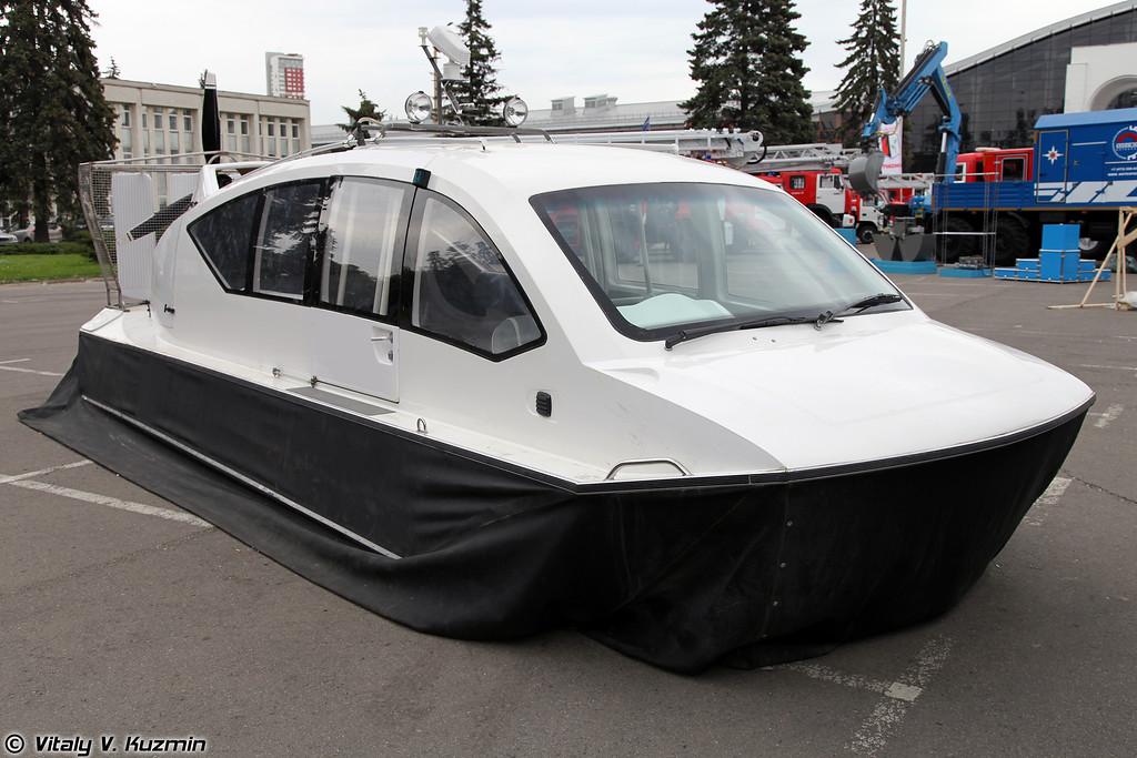 Катер на воздушной подушке Разведчик-660-2 (Razvedchik-660-2 hovercraft)