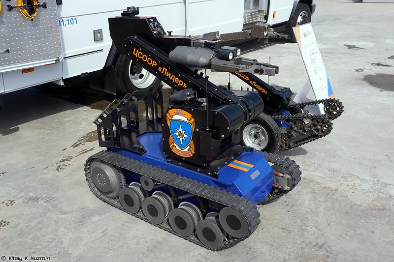 Мобильный робототехнический комплекс tEODor (tEODor UGV)