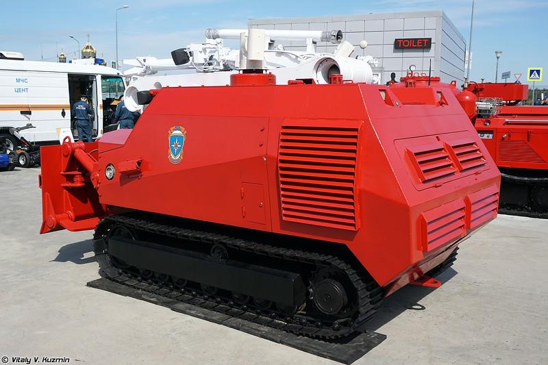 Робототехнический комплекс пожаротушения среднего класса Ель-4 (El-4 UGV)