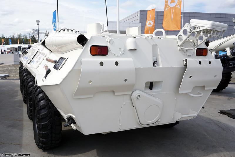 Машина радиационной, химической и биологической разведки РХМ-4 (RKhM-4 CBRN recce vehicle)