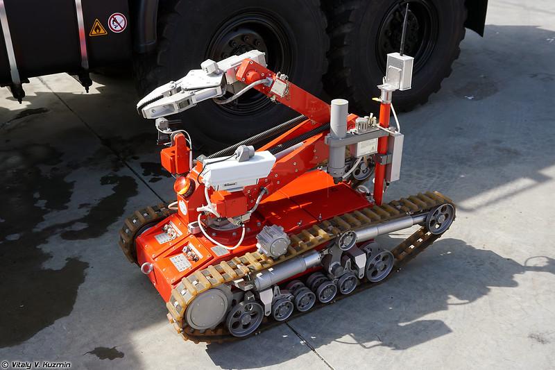 Мобильный робототехнический комплекс разведки и пожаротушения МРК-РП (MRK-RP UGV)