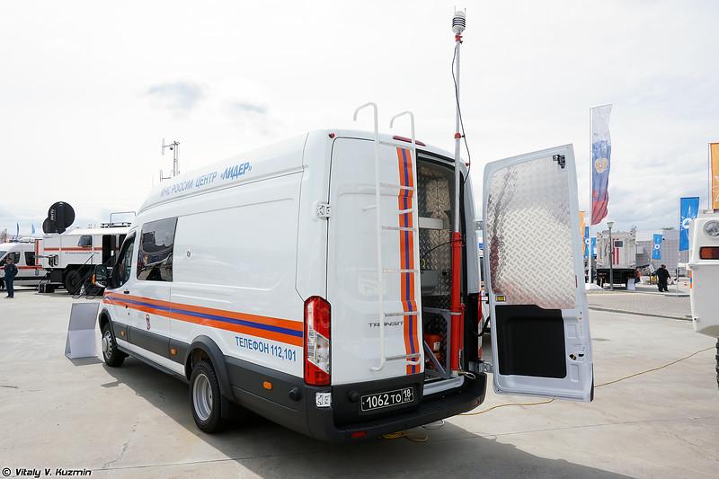Мобильная лаборатория контроля атмосферного воздуха (Air pollution control vehicle)