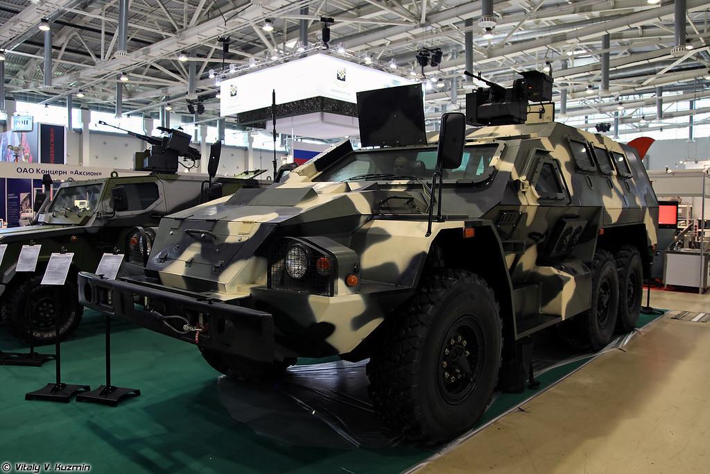 Бронеавтомобиль СБА-60-К2 Булат с боевым модулем (SBA-60-K2 Bular armored vehicle)
