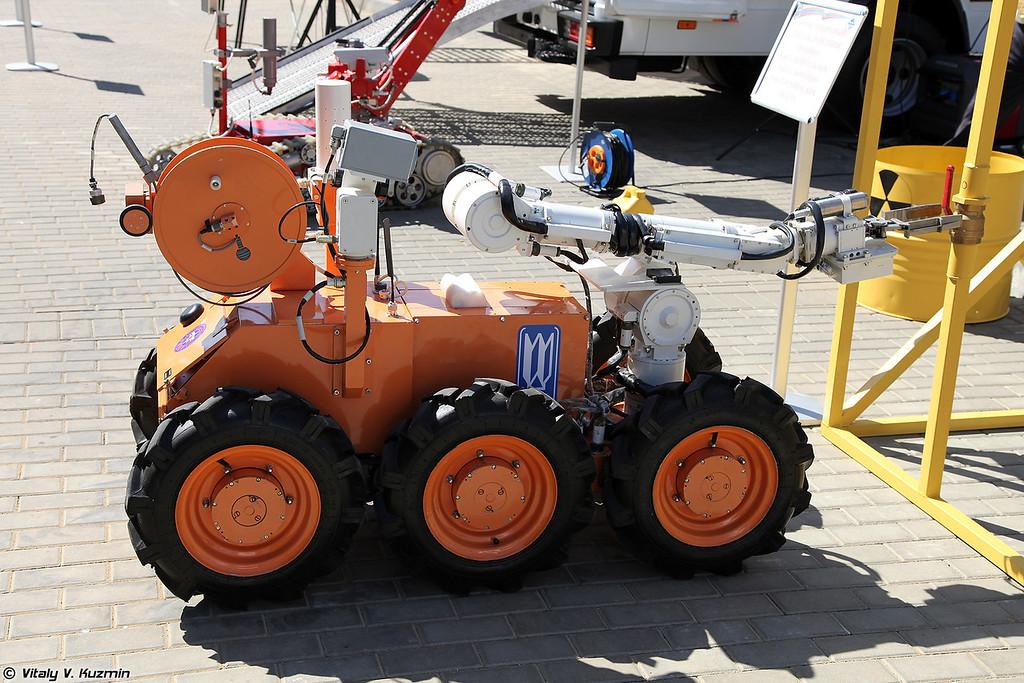 Робототехническое средство радиационной разведки (Radiation reconnaissance robot)
