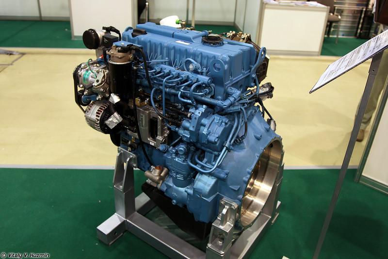Дизельный двигатель ЯМЗ-53472-10 для семейства Тигр-М (Diesel engine YaMZ-53472-10 for Tigr-M vehicle family)