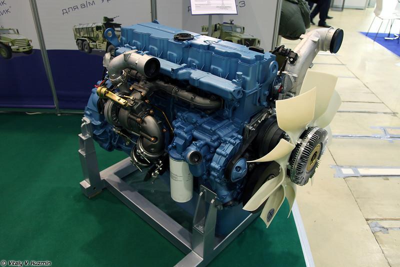 Дизельный двигатель ЯМЗ-53642-10 для автомобилей Урал-4320 (Diesel engine YaMZ-53642-10 for Ural-4320 family)