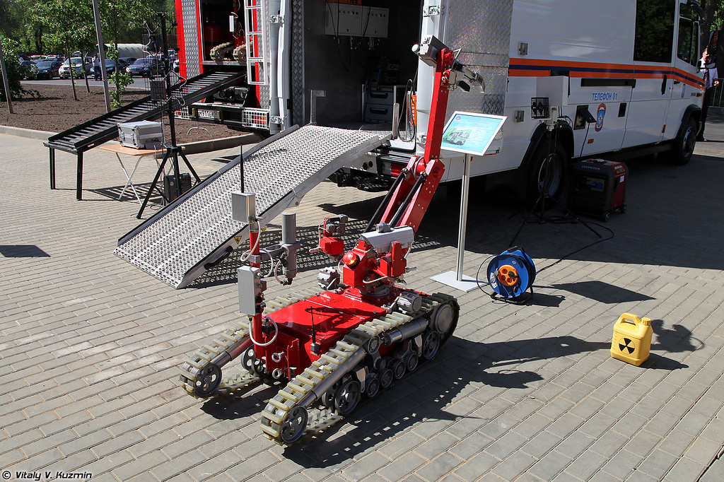 Мобильный робототехнический комплекс МРК-РП (MRK-RP robot)