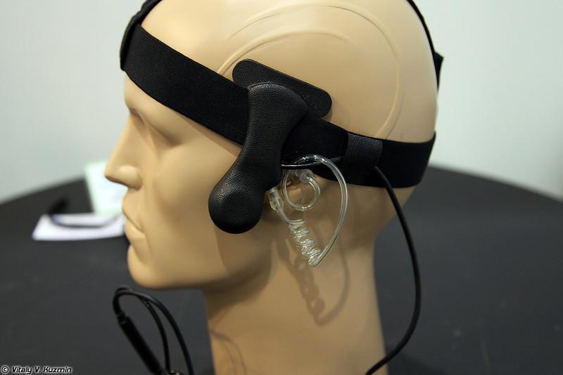 Гарнитура с микрофоном костной проводимости ТМГК-1 (TMGK-1 headset)