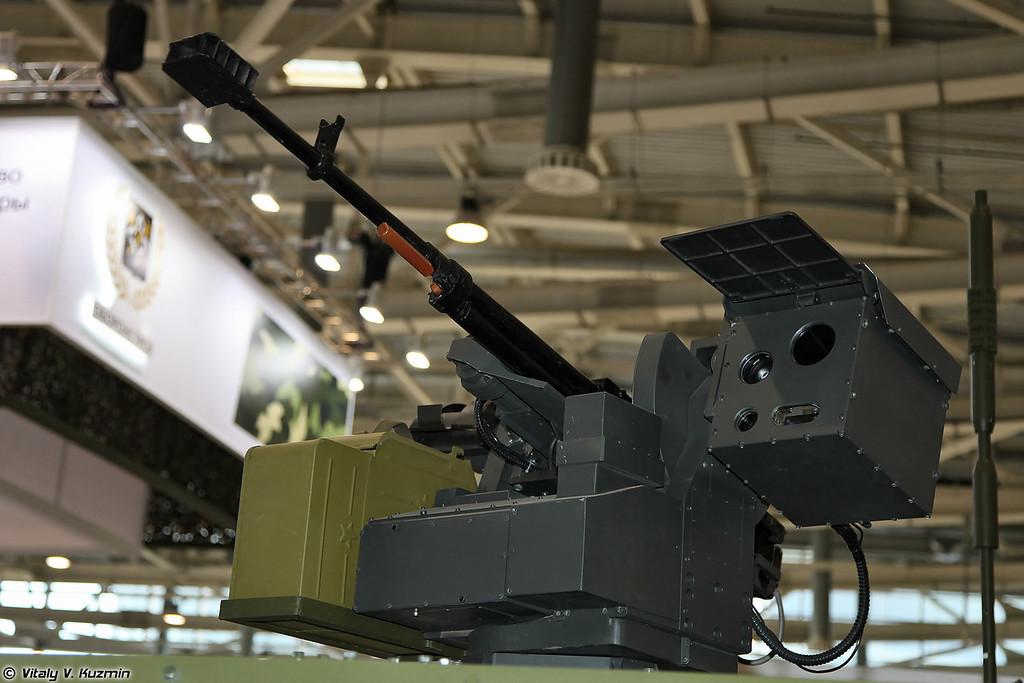 Боевой дистанционно-управляемый модуль с пулеметом Корд (Combat remote control module with Kord machine gun)