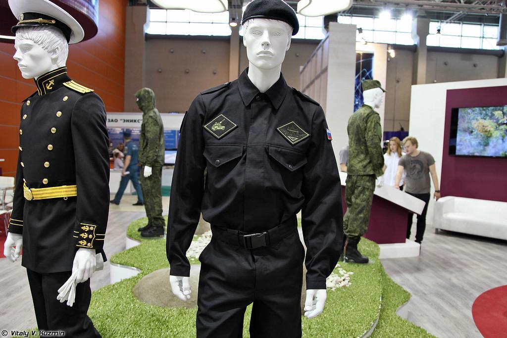 Костюм для экипажей, участвующих в танковом биатлоне (Tank suits for the participants of Tank biathlon 2014 competition)