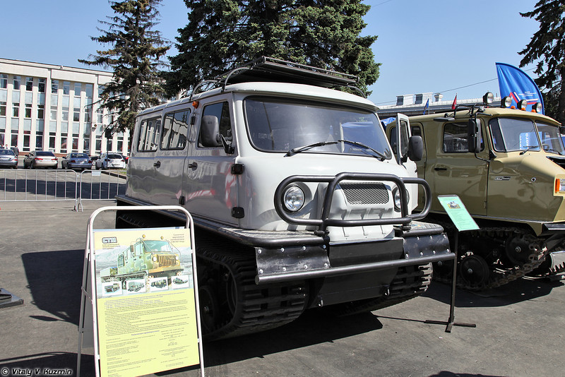 Снегоболотоход гусеничный оперативно-служебный 1994-СДЧ (1994-SDCh all-terrain tracked vehicle)