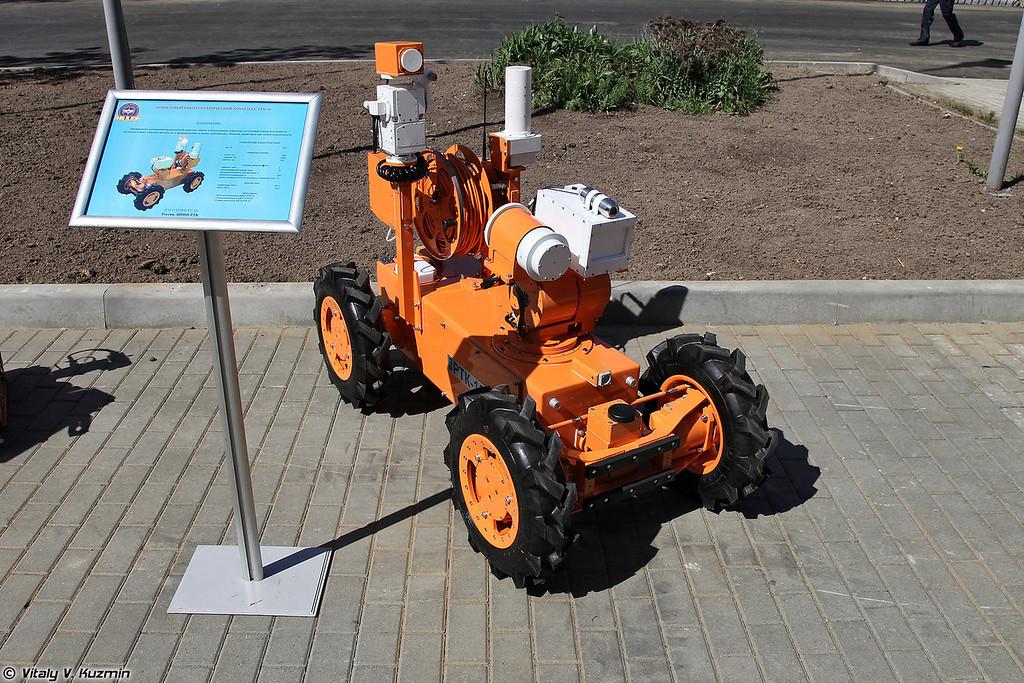 Мобильный робототехнический комплекс РТК-10 (RTK-10 robot)