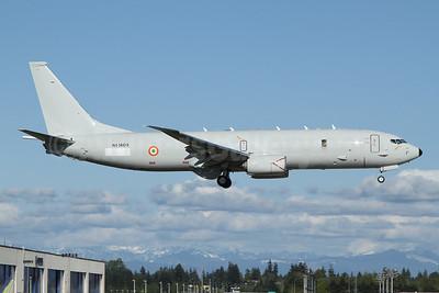 Indian Navy Boeing 737-8FV (P-8I Neptune) N536DS (msn 64891) PAE (Nick Dean). Image: 953635.