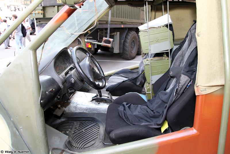 Опытный образец штурмового автомобиля от МГТУ им. Н.Э. Баумана. (Prototype of light assault vehicle.)