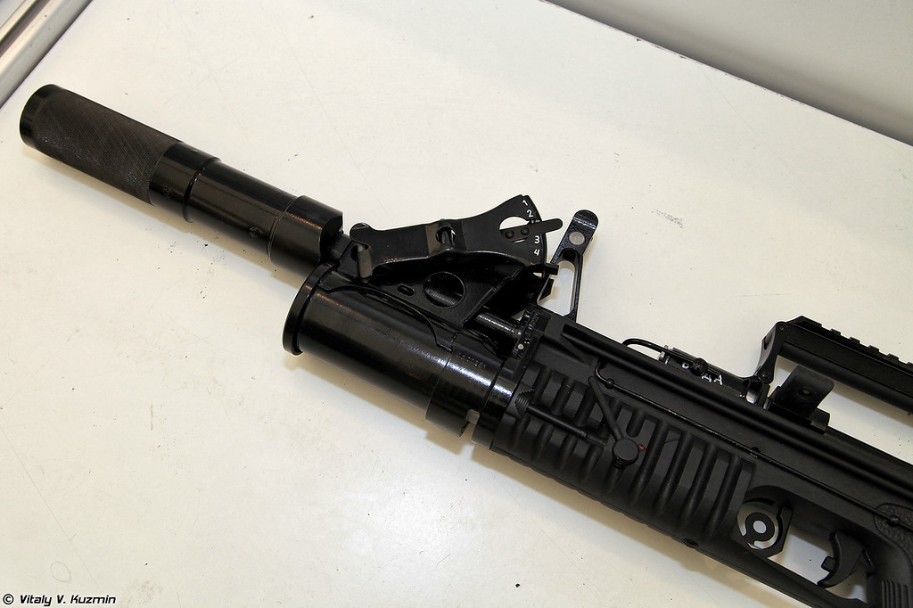 5,45-мм автомат двухсредный специальный АДС (5.45mm ADS rifle.)
