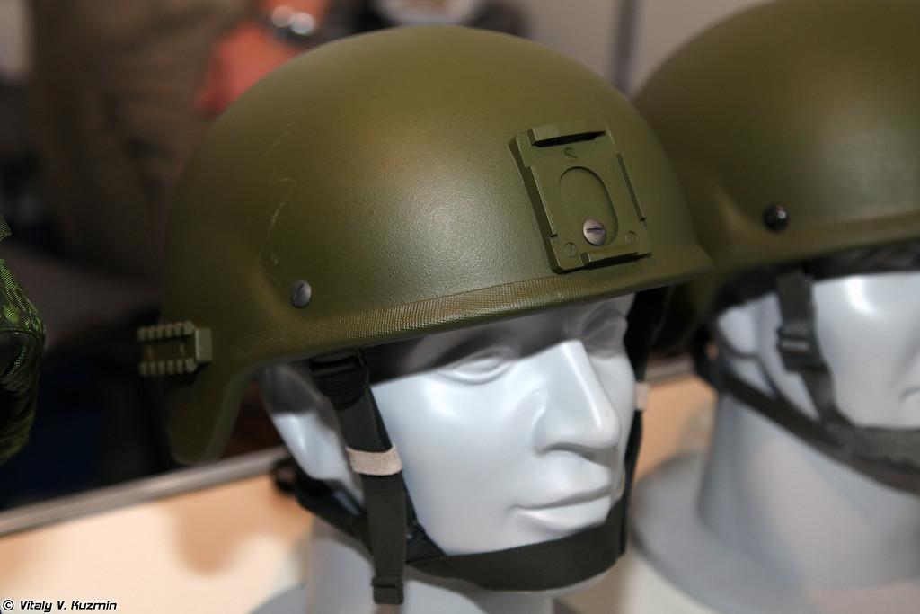 Шлем 6Б47 с креплениями для приборов. (6B47 helmet.)