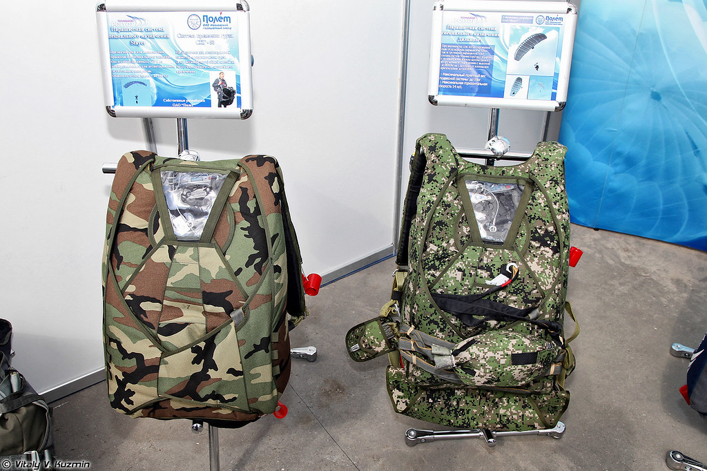 Парашютные системы специального назначения Stayer и Дальнолет (Stayer and Dalnolet special parachute systems)