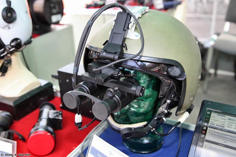Очки ночного видения с целеуказанием и вводом пилотажно-навигационной информации ГЕО-ОНВ1-И (GEO-ONV1-I NV goggles with target designation)