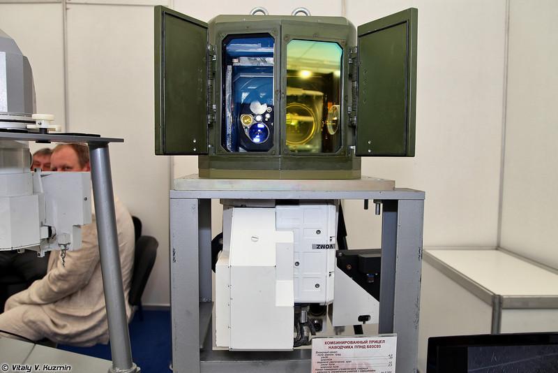 Комбинированный прицел наводчика ППНД Б03С03 (Combined gunner sight PPND B03S03)