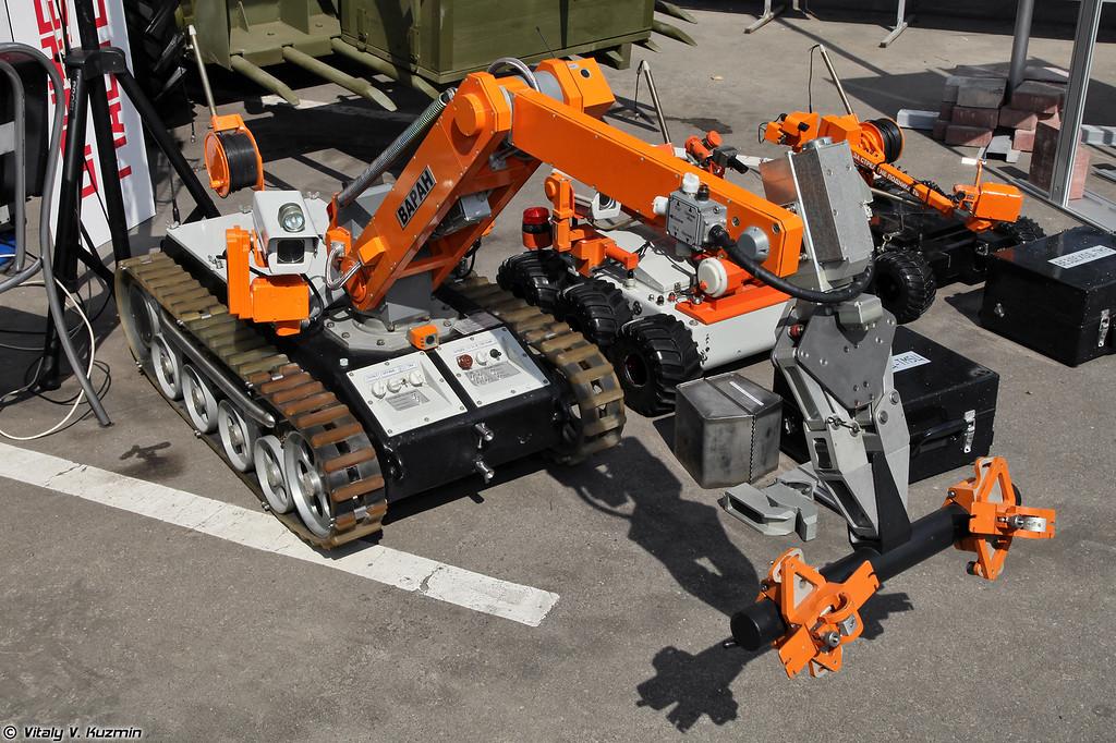 Многофункциональный мобильный робототехнический комплекс Варан (Varan robot)