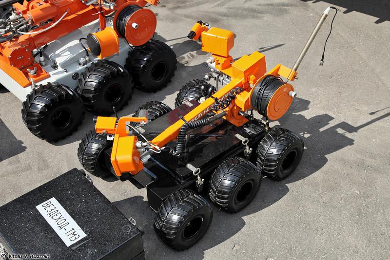 Робототехнический комплекс Вездеход-ТМ3 (Vezdekhod-TM3 robot)