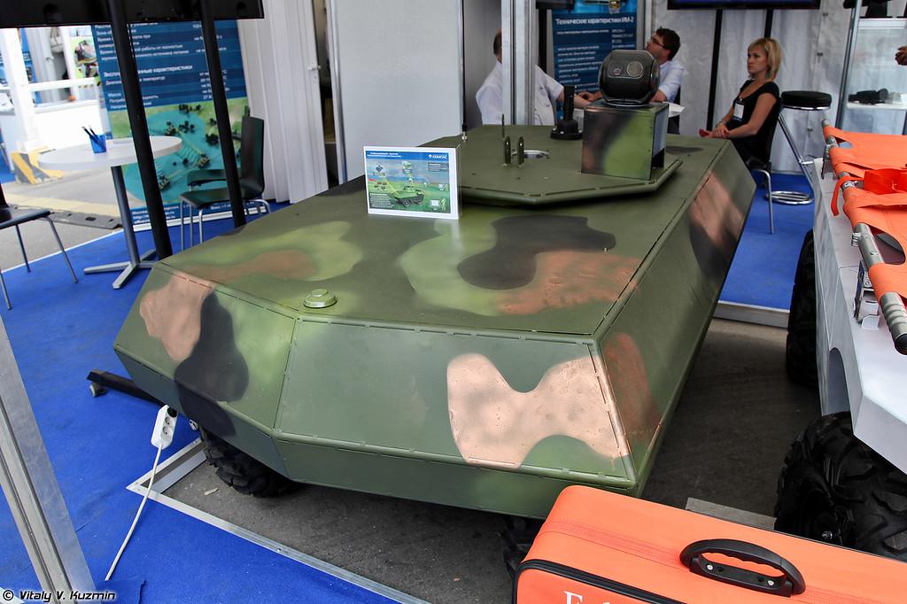 Разведывательно-ударная робототехническая система РУРС (Reconnaissance and strike robot system RURS)