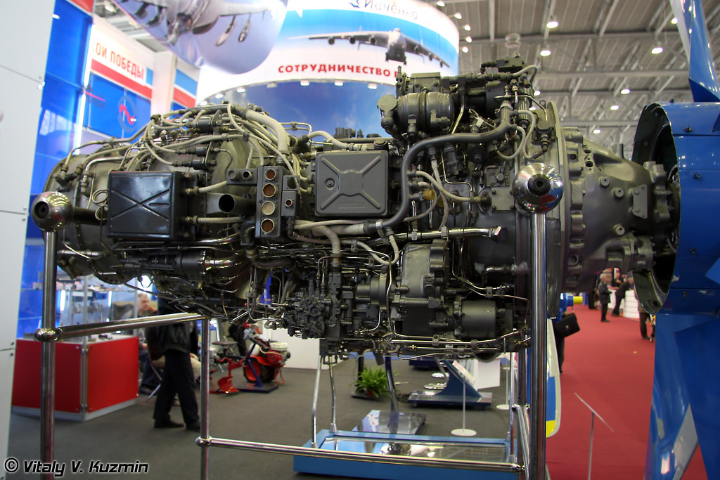 Двигатель ТВ7-117С для Ил-114 (TV7-117S for IL-114)