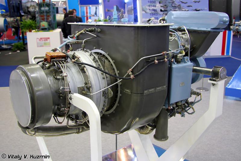 Вспомогательный газотурбинный двигатель АИ-450-МС для Ан-148 (AI-450-MS auxiliary gas-turbine engine for An-148)