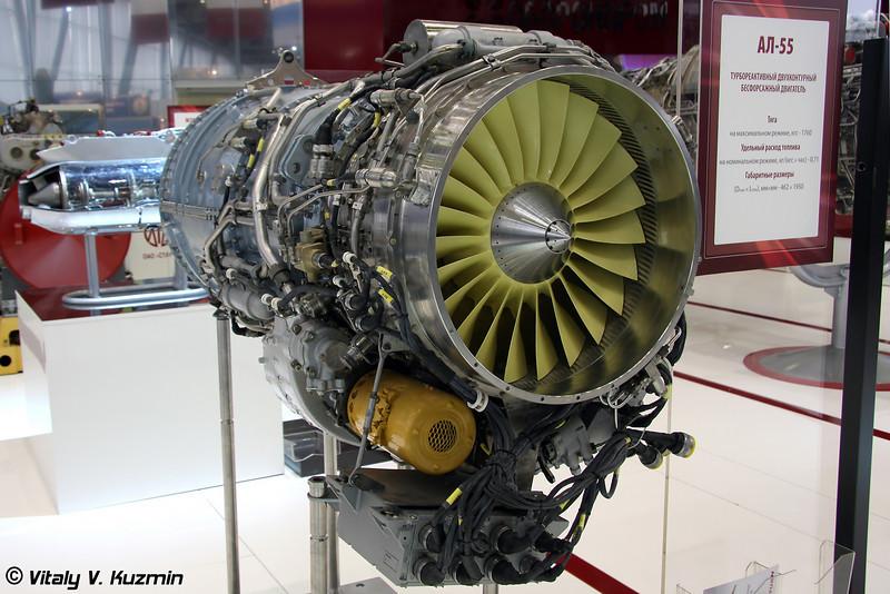 АЛ-55 для учебно-тренировочных самолетов (AL-55 engine for Yak-130, MiG-AT and other trainers)