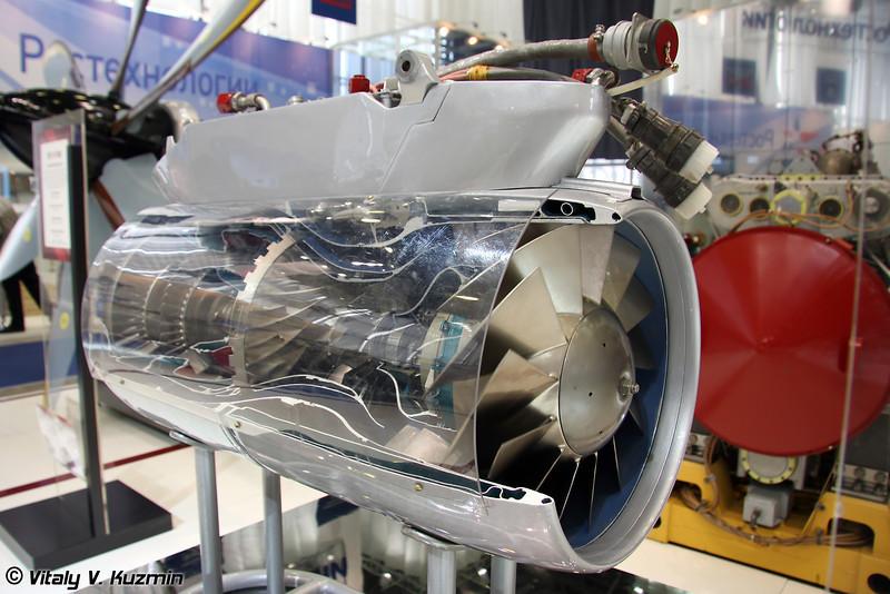 36МТ малоразмерный турбореактивный двухконтурный двигатель (36MT low-sized engine)