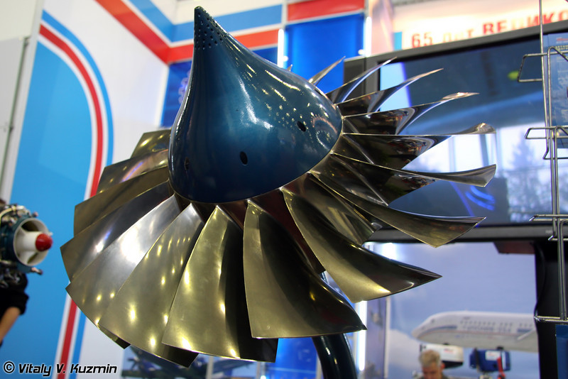 Первая ступень ротора двигателя АИ 222-25 для Як-130 (First section of rotor for AI 222-25 engine for Yak-130)