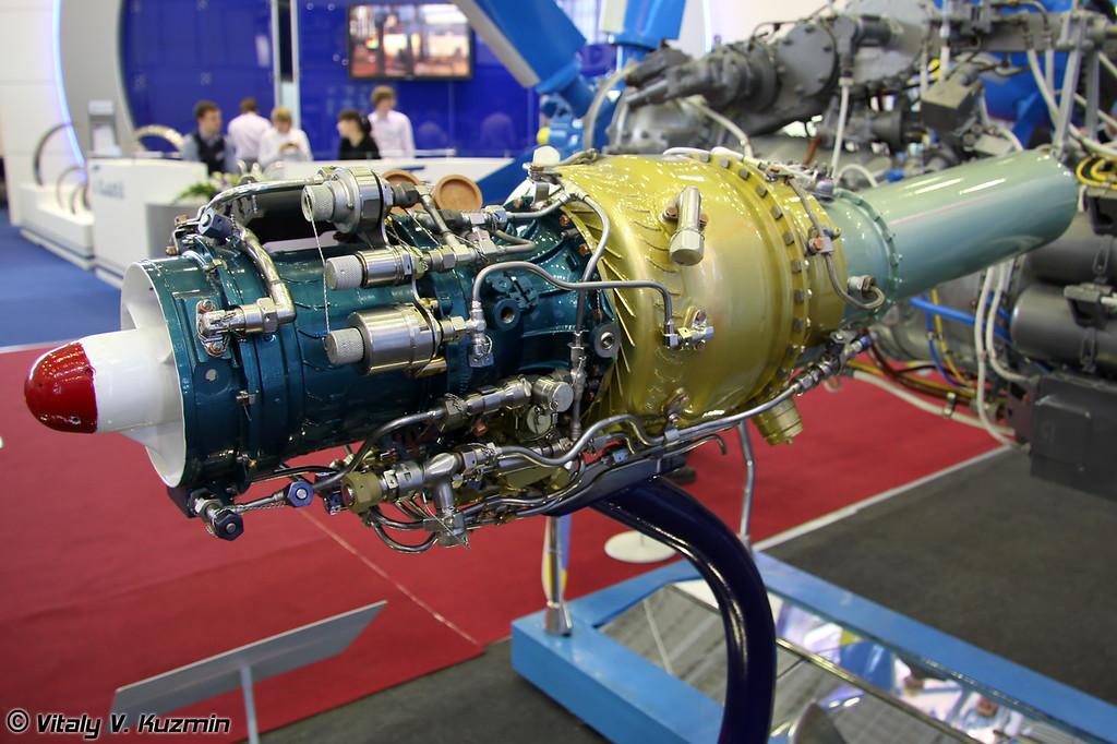 МД-120 газотурбинный двигатель для самолета-мишени Дань (MD-120 gas-turbine engine for flying target imitator DAN')