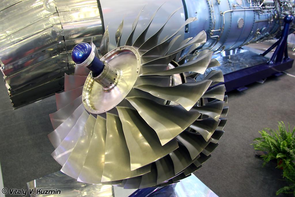 Компрессор низкого давления КНД 924-3 для двигателя АЛ-31Ф (Low pressure compressor KND 924-3 for AL-31F engine)