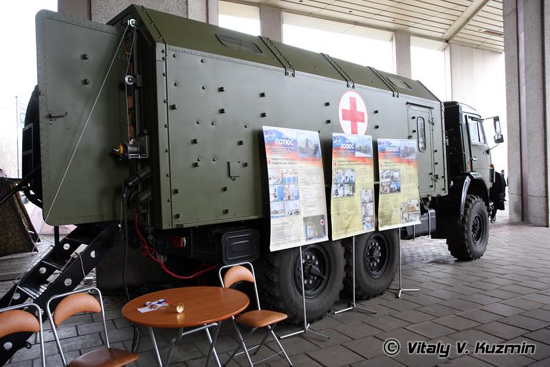 Базовый а/м для подвижных медицинских комплексов (Base vehicle for medic center)