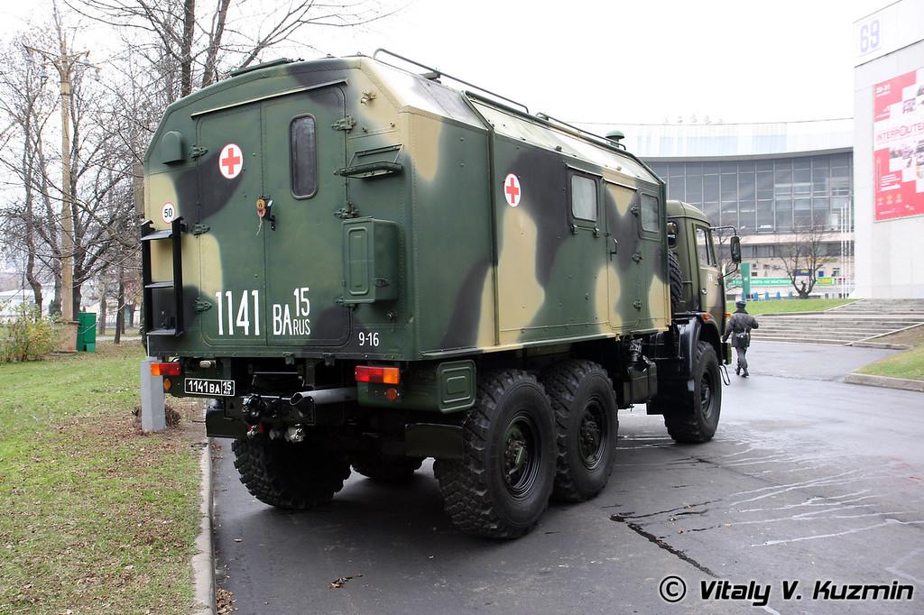 Автоперевязочная АП-2 Камаз-43114 (Mobile dressing ward AP-2)